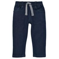 Oblačila Dečki Kavbojke slim Petit Bateau MILET Modra