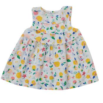 Oblačila Deklice Kratke obleke Petit Bateau MELIANA Večbarvna