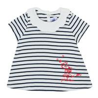 Oblačila Deklice Majice s kratkimi rokavi Petit Bateau MELIANE Večbarvna