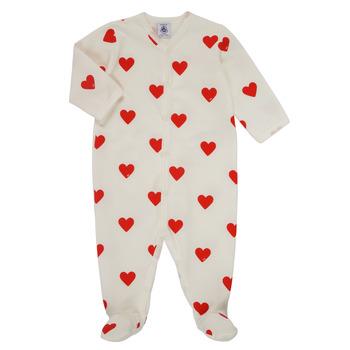 Oblačila Deklice Pižame & Spalne srajce Petit Bateau MESCOEURS Bela