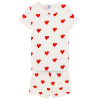 Oblačila Deklice Pižame & Spalne srajce Petit Bateau MICOURT Večbarvna
