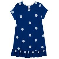 Oblačila Deklice Kratke obleke Petit Bateau MALICETTE Modra