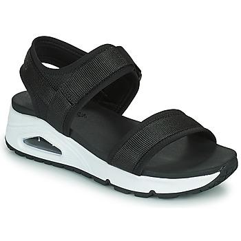 Čevlji  Ženske Sandali & Odprti čevlji Skechers UNO Črna