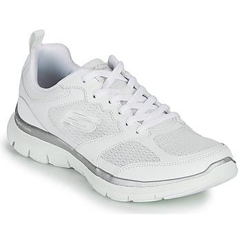 Čevlji  Ženske Fitnes / Trening Skechers FLEX APPEAL 4.0 Bela