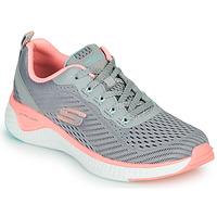 Čevlji  Ženske Fitnes / Trening Skechers SOLAR FUSE COSMIC VIEW Siva / Rožnata