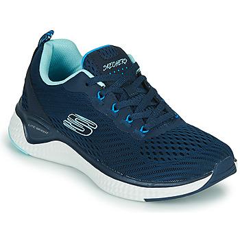 Čevlji  Ženske Fitnes / Trening Skechers SOLAR FUSE COSMIC VIEW Modra