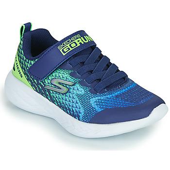 Čevlji  Dečki Nizke superge Skechers GO RUN 600 Modra / Zelena