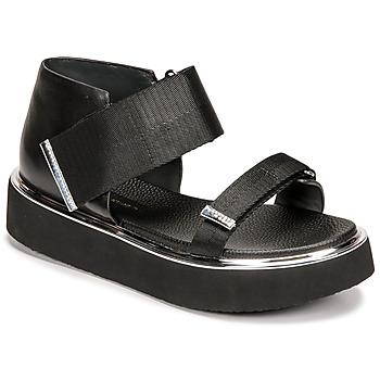 Čevlji  Ženske Sandali & Odprti čevlji United nude VITA SANDAL LO Črna