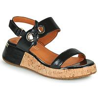 Čevlji  Ženske Sandali & Odprti čevlji Mam'Zelle CLIP Črna