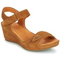 Čevlji  Ženske Sandali & Odprti čevlji Mam'Zelle DARDA Cognac