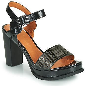 Čevlji  Ženske Sandali & Odprti čevlji Mam'Zelle JOBA Črna