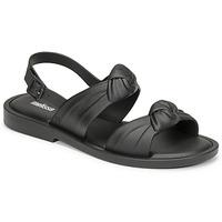 Čevlji  Ženske Sandali & Odprti čevlji Melissa VELVET SANDAL AD Črna