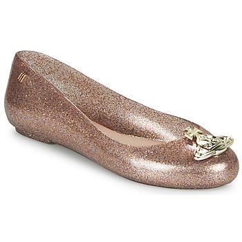 Čevlji  Ženske Balerinke Melissa VIVIENNE WESTWOOD ANGLOMANIA - SWEET LOVE II Rožnata