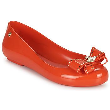 Čevlji  Ženske Balerinke Melissa VIVIENNE WESTWOOD ANGLOMANIA - SWEET LOVE II Rdeča