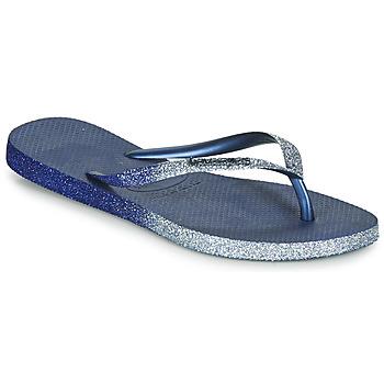 Čevlji  Ženske Japonke Havaianas SLIM SPARKLE II Modra