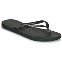 Čevlji  Ženske Japonke Havaianas SLIM SPARKLE II Črna