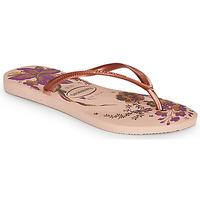 Čevlji  Ženske Japonke Havaianas SLIM ORGANIC Rožnata
