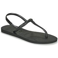 Čevlji  Ženske Sandali & Odprti čevlji Havaianas TWIST Črna