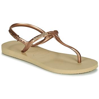 Čevlji  Ženske Sandali & Odprti čevlji Havaianas TWIST Bež