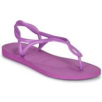 Čevlji  Ženske Sandali & Odprti čevlji Havaianas LUNA Vijolična