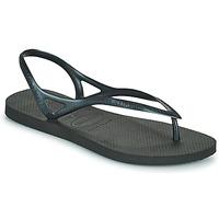 Čevlji  Ženske Sandali & Odprti čevlji Havaianas SUNNY II Črna