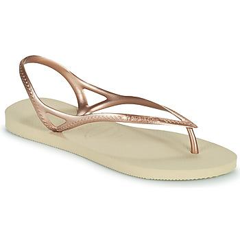 Čevlji  Ženske Sandali & Odprti čevlji Havaianas SUNNY II Bež