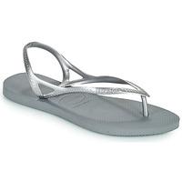 Čevlji  Ženske Sandali & Odprti čevlji Havaianas SUNNY II Srebrna
