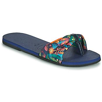 Čevlji  Ženske Japonke Havaianas YOU SAINT TROPEZ Modra