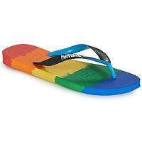 Čevlji  Japonke Havaianas TOP LOGOMANIA MULTICOLOR Večbarvna