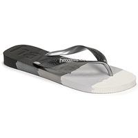 Čevlji  Japonke Havaianas TOP LOGOMANIA MULTICOLOR Črna