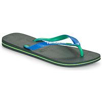 Čevlji  Moški Japonke Havaianas BRASIL MIX Črna / Modra