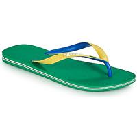 Čevlji  Moški Japonke Havaianas BRASIL MIX Zelena