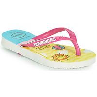 Čevlji  Deklice Japonke Havaianas KIDS SLIM HELLO KITTY Bela