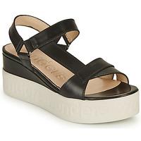 Čevlji  Ženske Sandali & Odprti čevlji Wonders PESTEL Črna