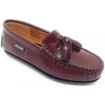 Čevlji  Otroci Mokasini Atlanta 24268-18 Bordo