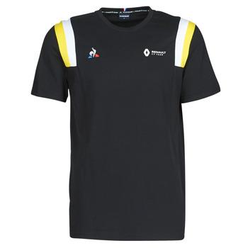 Oblačila Moški Majice s kratkimi rokavi Le Coq Sportif RENAULT FANWEAR 20 Tee SS M Črna