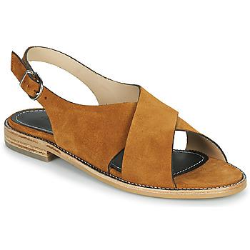 Čevlji  Ženske Sandali & Odprti čevlji Muratti RAVILLOLES Cognac