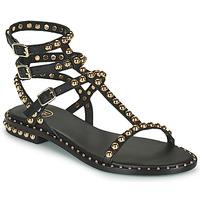 Čevlji  Ženske Sandali & Odprti čevlji Ash PLAY Črna