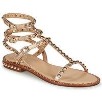 Čevlji  Ženske Sandali & Odprti čevlji Ash PLAY Pozlačena