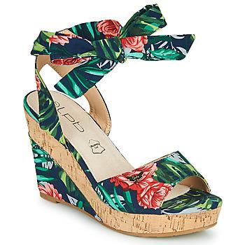Čevlji  Ženske Sandali & Odprti čevlji Les Petites Bombes BELA Večbarvna
