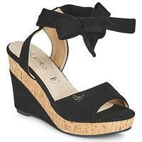 Čevlji  Ženske Sandali & Odprti čevlji Les Petites Bombes BELA Črna