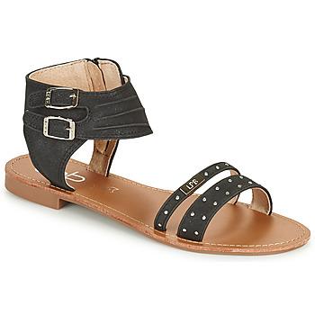 Čevlji  Ženske Sandali & Odprti čevlji Les Petites Bombes BELIZE Črna