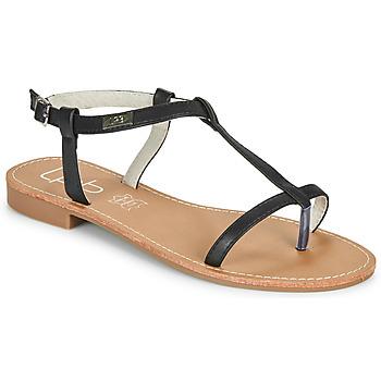 Čevlji  Ženske Sandali & Odprti čevlji Les Petites Bombes BULLE Črna