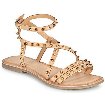 Čevlji  Ženske Sandali & Odprti čevlji Les Petites Bombes BEATA Bež