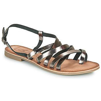 Čevlji  Ženske Sandali & Odprti čevlji Les Petites Bombes BRENDA Siva