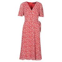 Oblačila Ženske Dolge obleke Lauren Ralph Lauren ABEL Rdeča