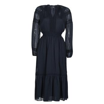 Oblačila Ženske Dolge obleke Lauren Ralph Lauren JAIRA Modra
