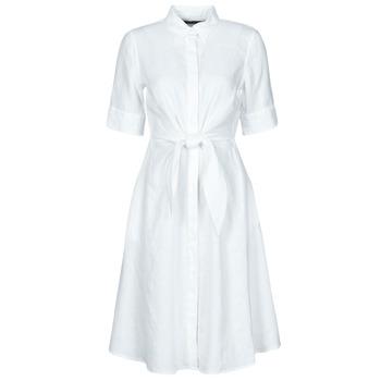 Oblačila Ženske Kratke obleke Lauren Ralph Lauren WAKANA Bela