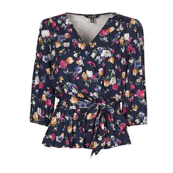 Oblačila Ženske Majice s kratkimi rokavi Lauren Ralph Lauren SHIANETA Večbarvna