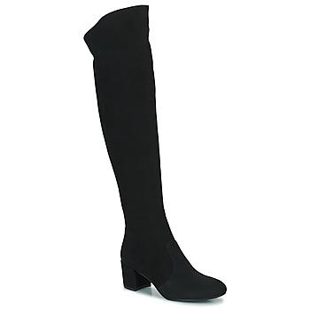 Čevlji  Ženske Mestni škornji    Minelli MILANIA Črna